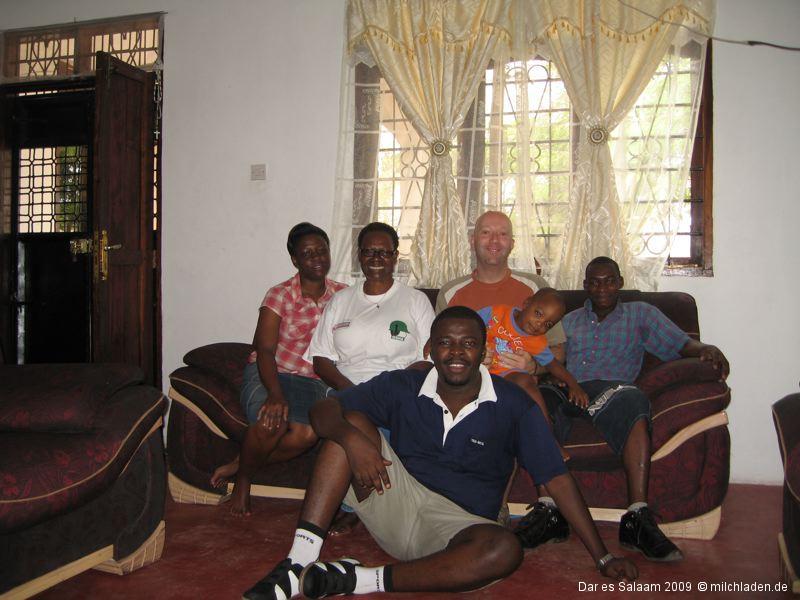 Ankunft in Dar es Salaam und Sansibar