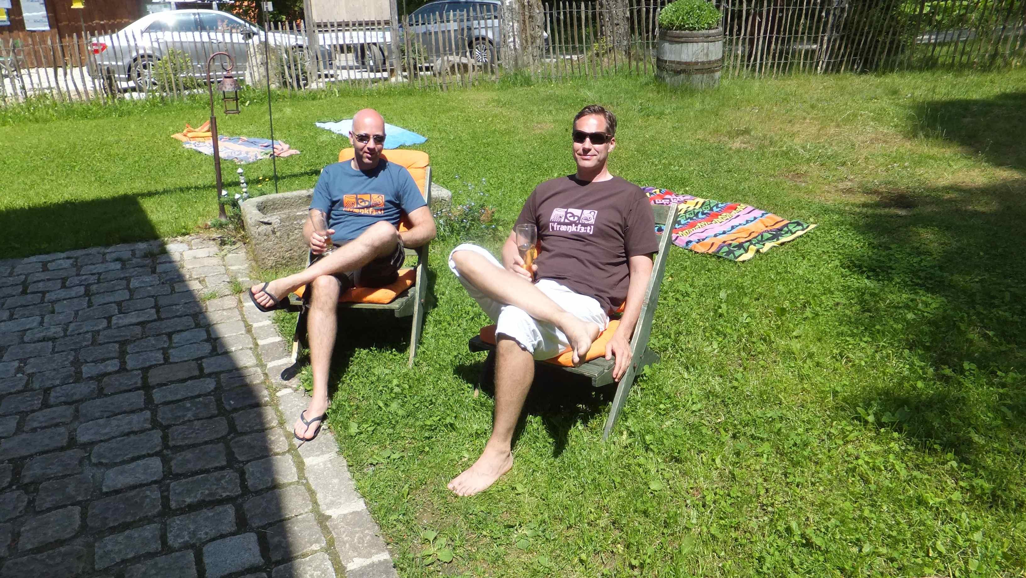 Ein Tag relaxen im historischen Waldferiendorf Dürrwies