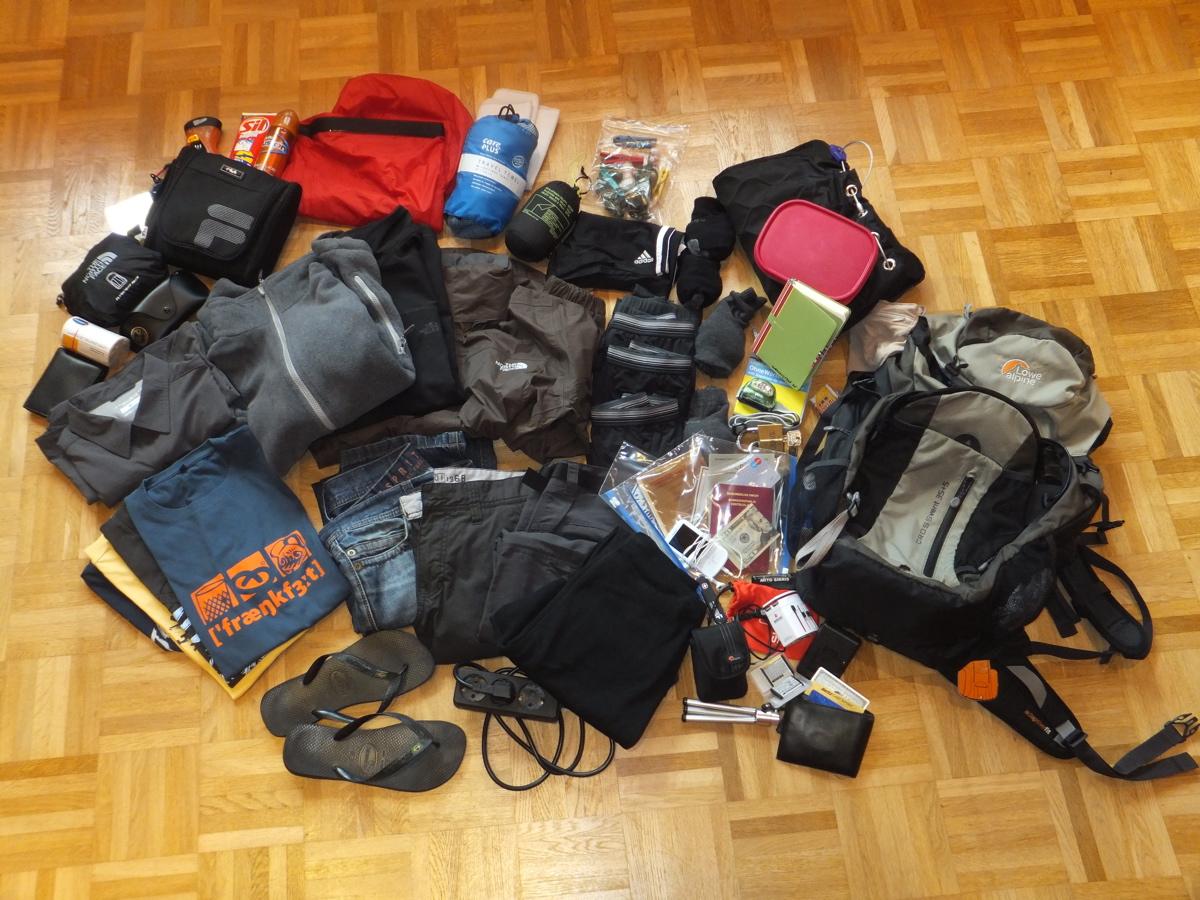 Packliste Weltreise – Mit 35 Liter Backpack um die Welt