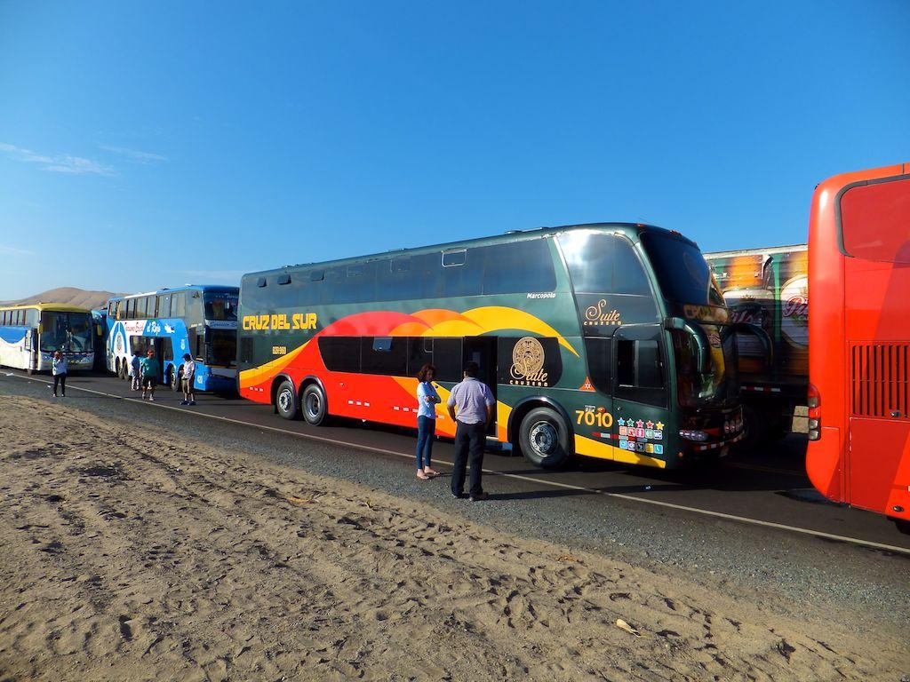 Mit dem Reise-Bus quer durch Südamerika
