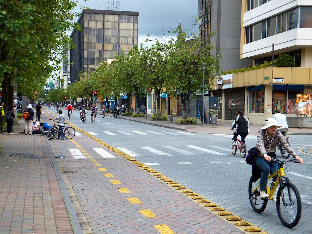 Die Fahrradmeile in der Neustadt
