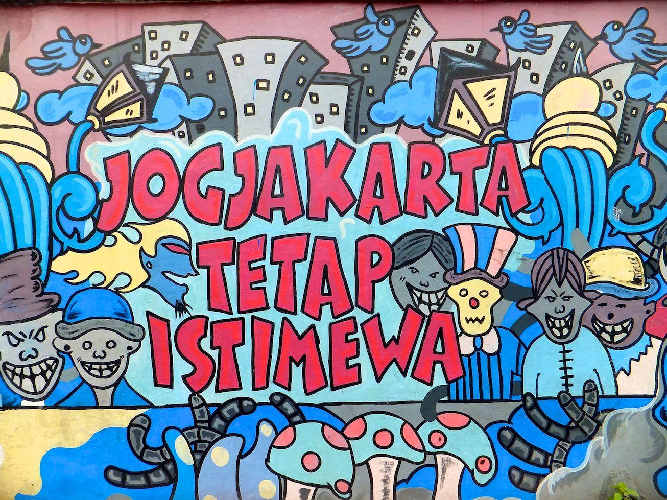 Jogjakarta und der Temple Prambanan