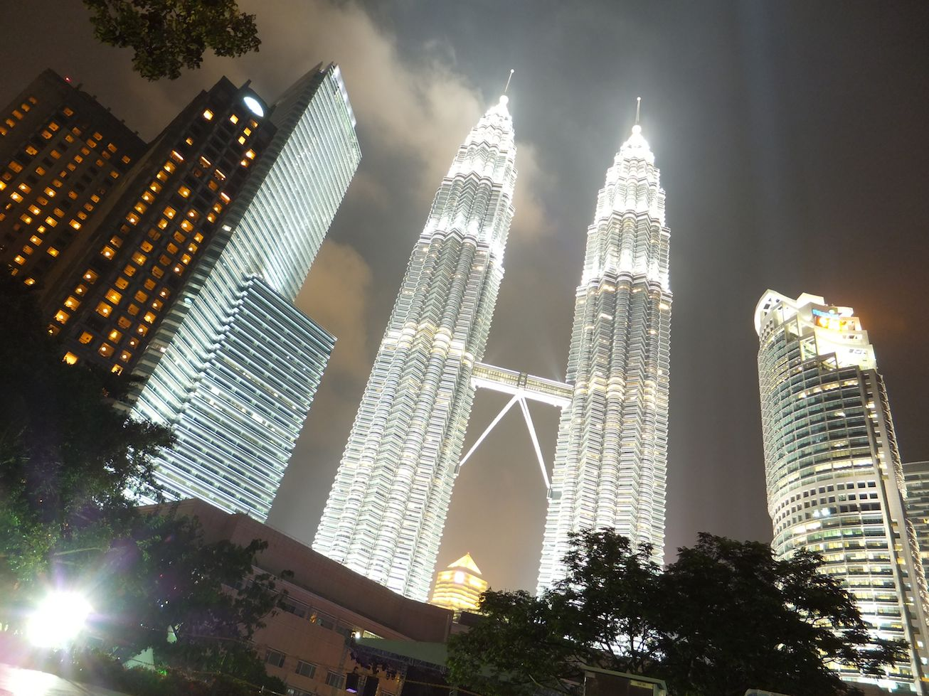 Kuala Lumpur – Sauna und Eisschrank