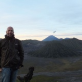 Mount Bromo auf Java