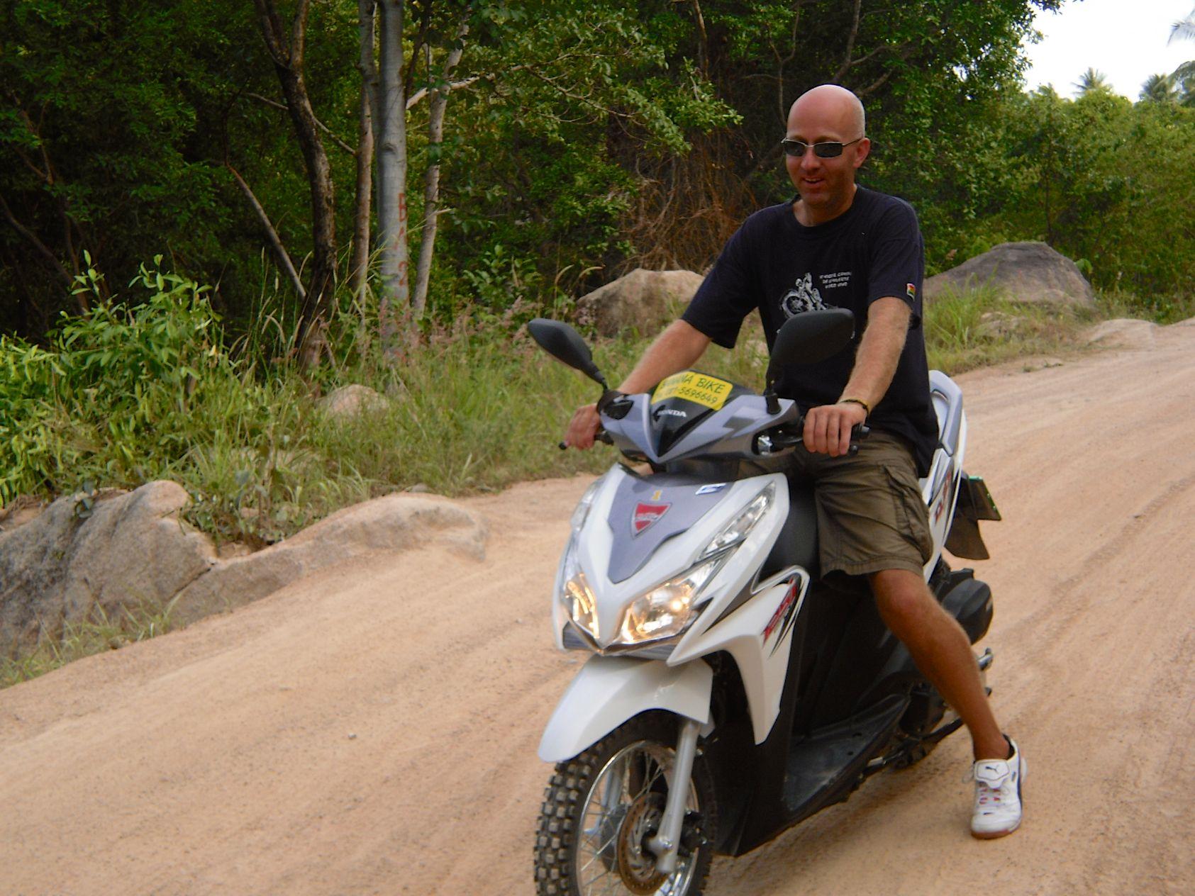 Besser kein Scooter auf Koh Tao mieten