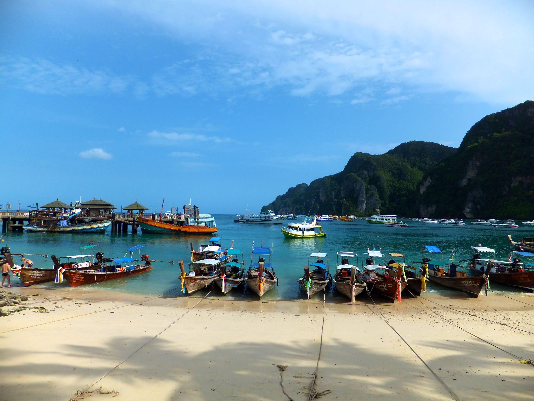 Koh Phi Phi Don am Hafen