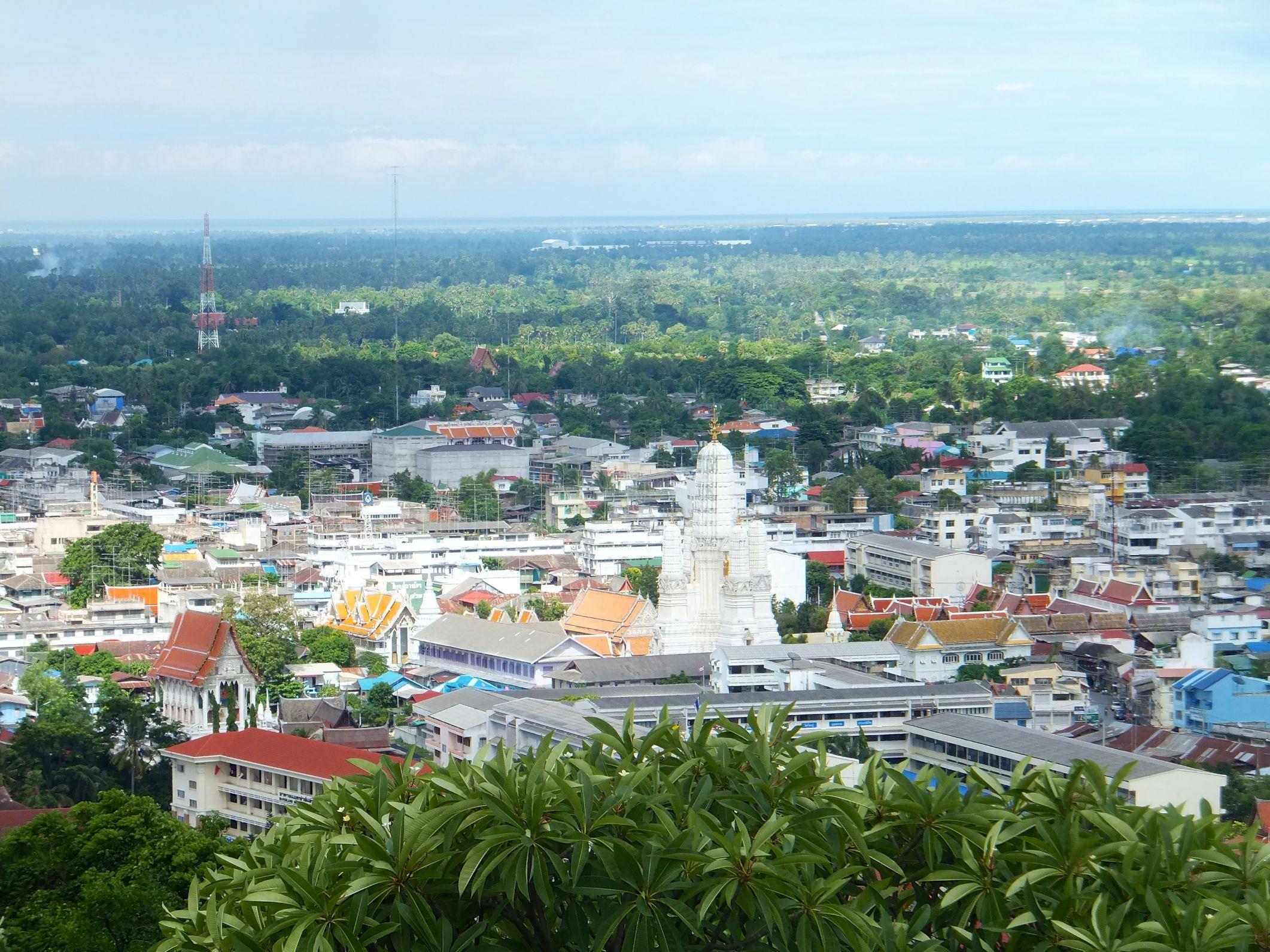 Phetchaburi die Stadt der Wats