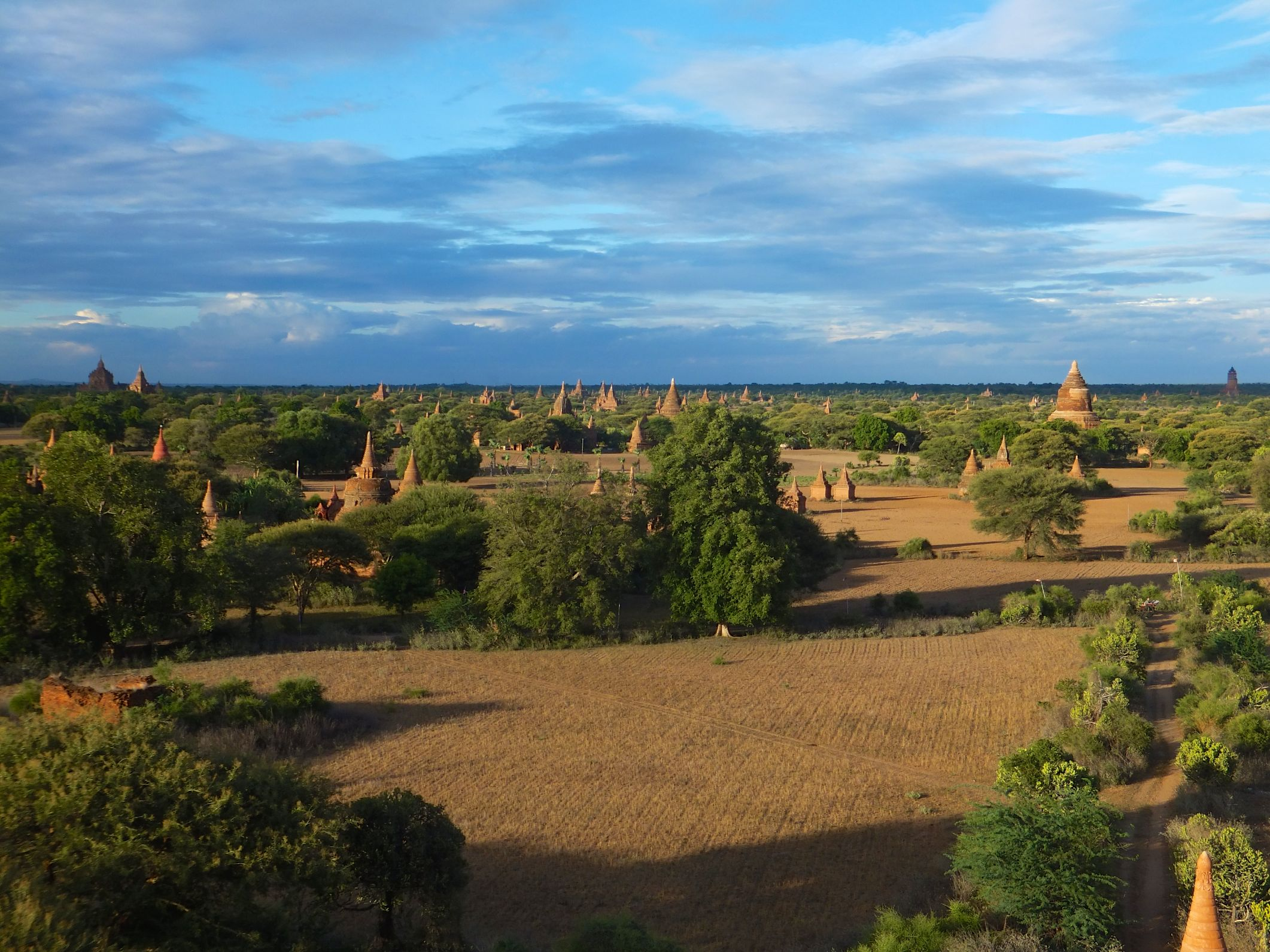 Sunset of Bagan