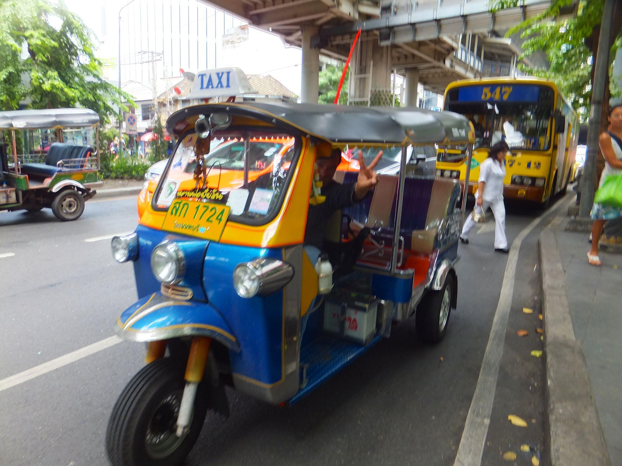 Das Tuk Tuk | Verkehrsmittel Bangkok