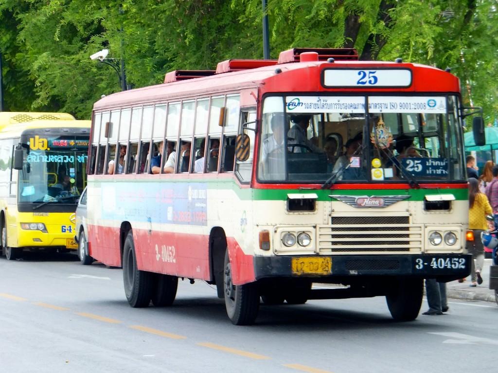Der öffentliche Bus | Verkehrsmittel Bangkok