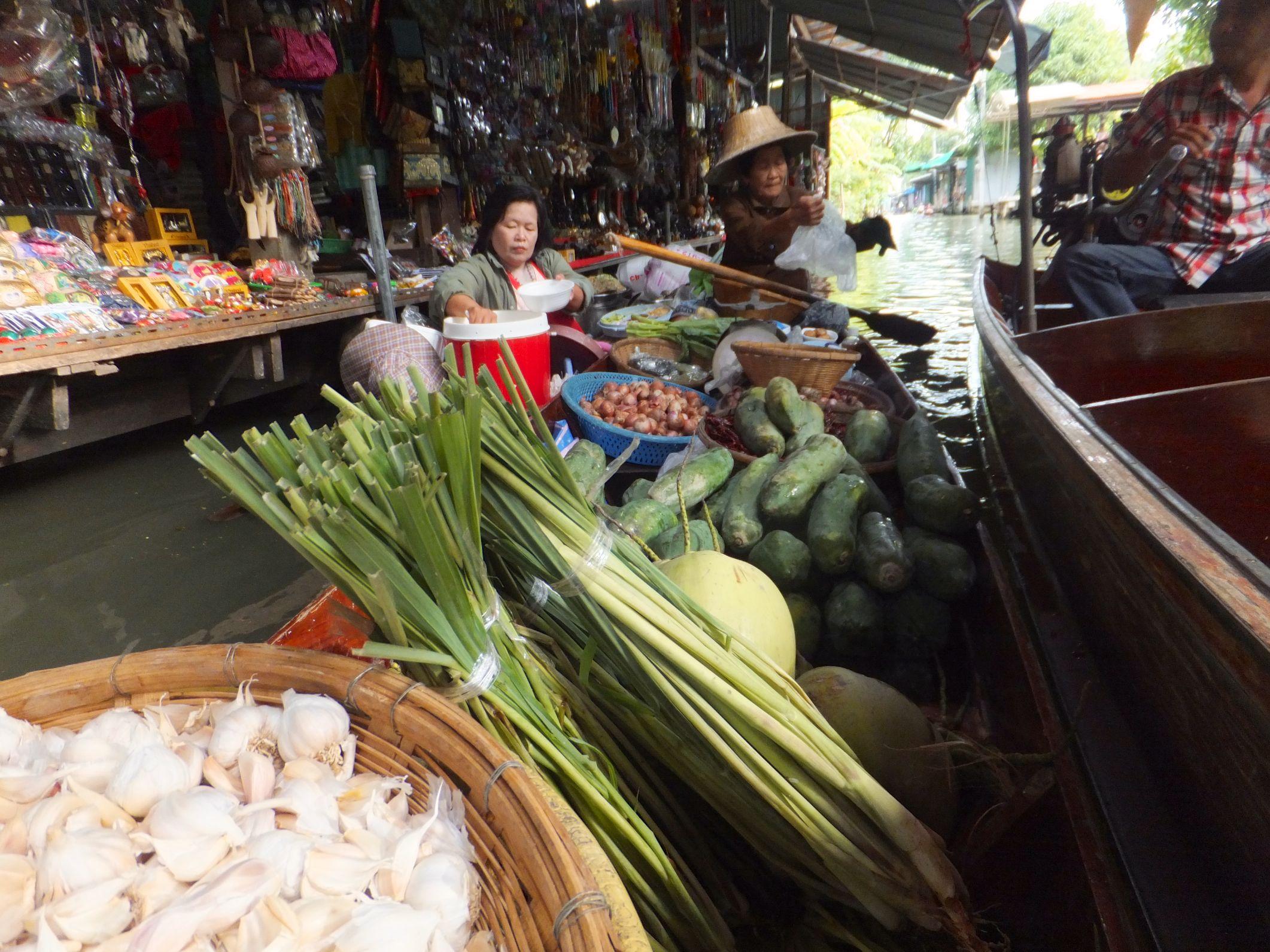 Damnoen Saduak – Floating Market