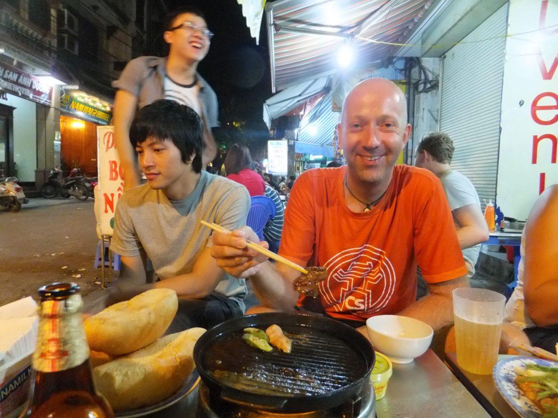 Essen in Hanoi - Vietnam