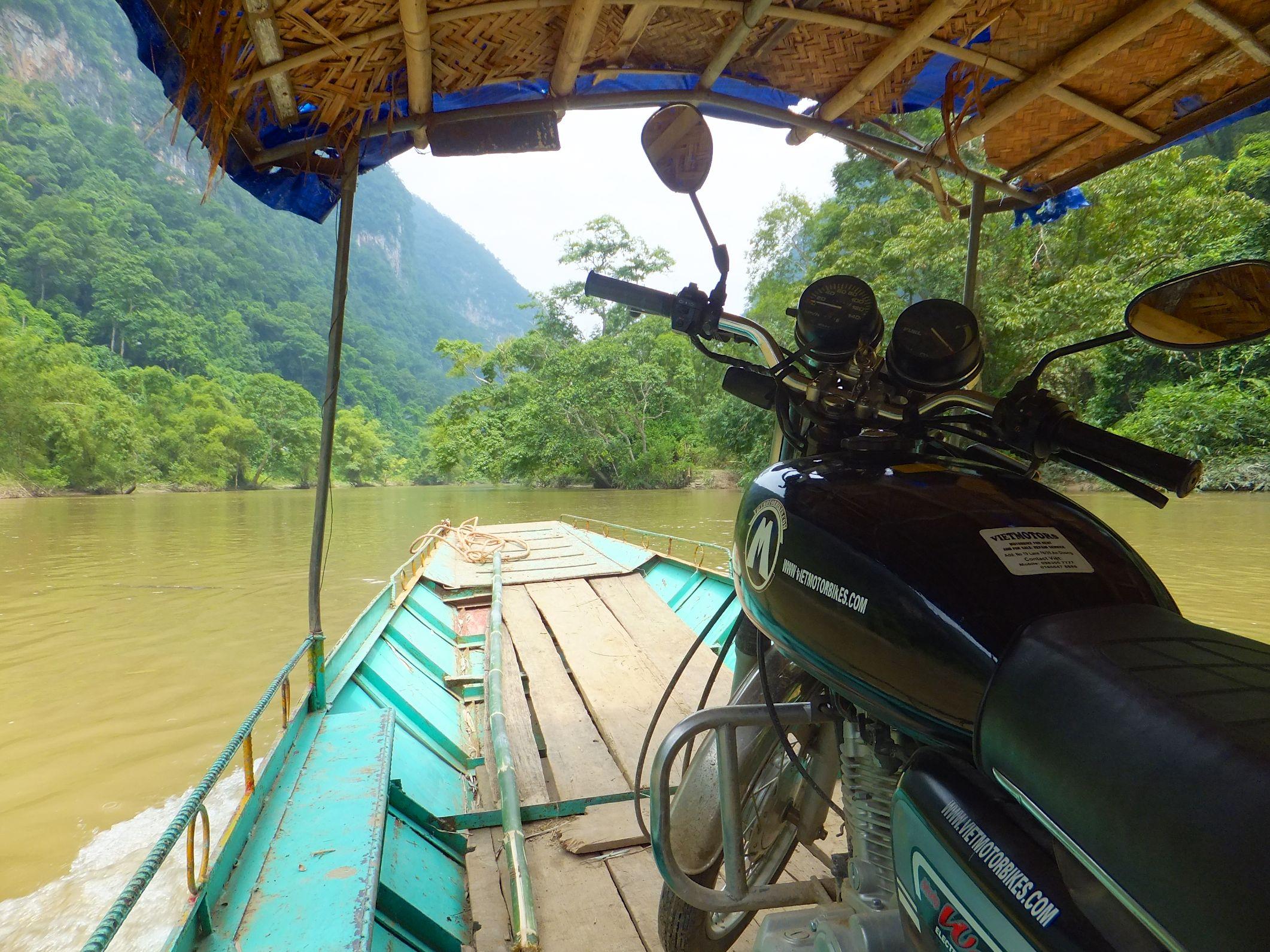 Besuch der Ban Gioc Wasserfällen