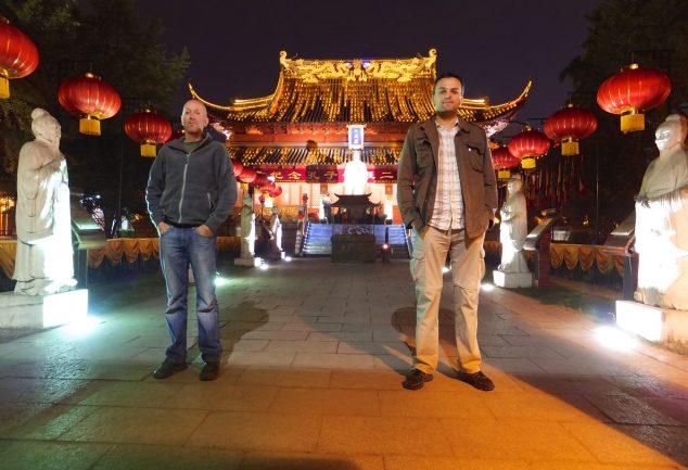 "Nanjing ""Konfuziustempel"" - China"