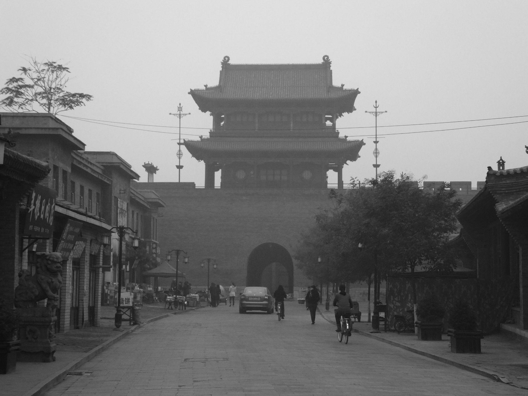 Pingyao – Die besterhaltenste Stadtmauer in China im Braunkohledunst