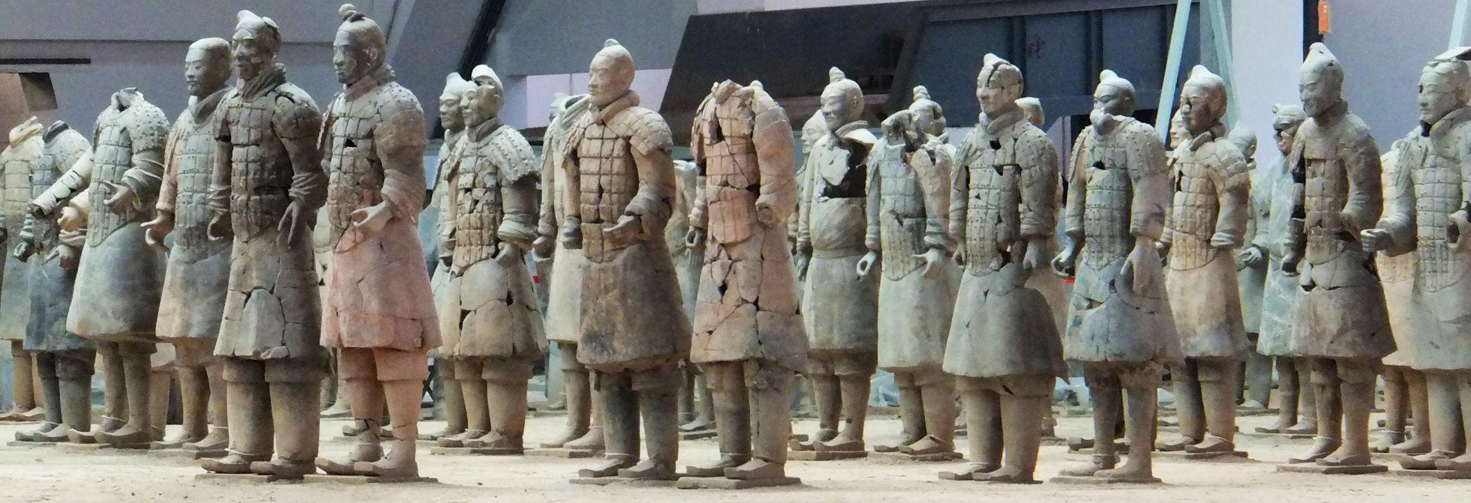 Terrakotta Arme - Xian - China