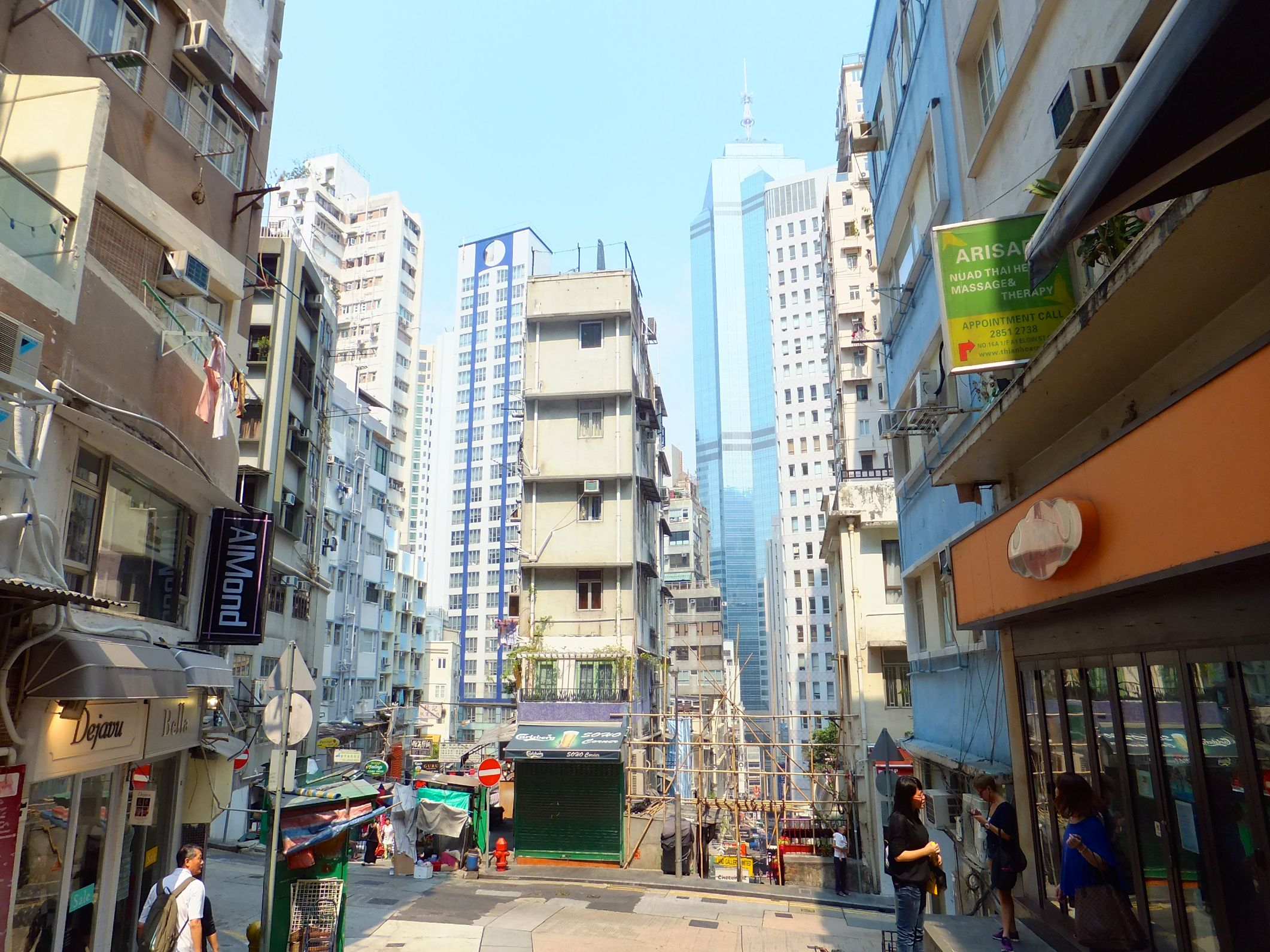 Hochhäuser überall