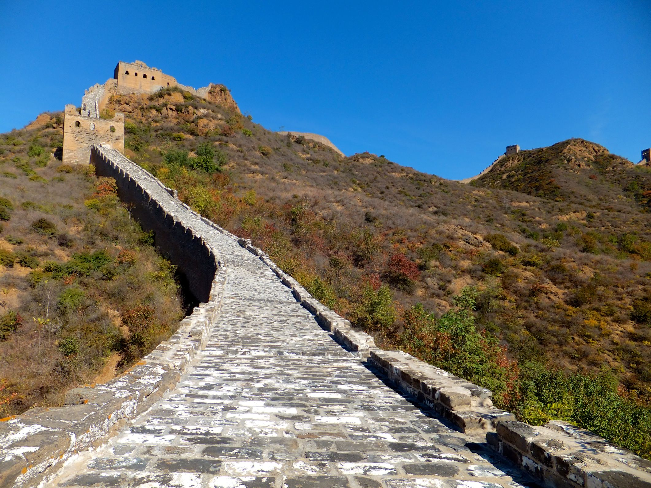 Die Große Mauer von Jinshanling