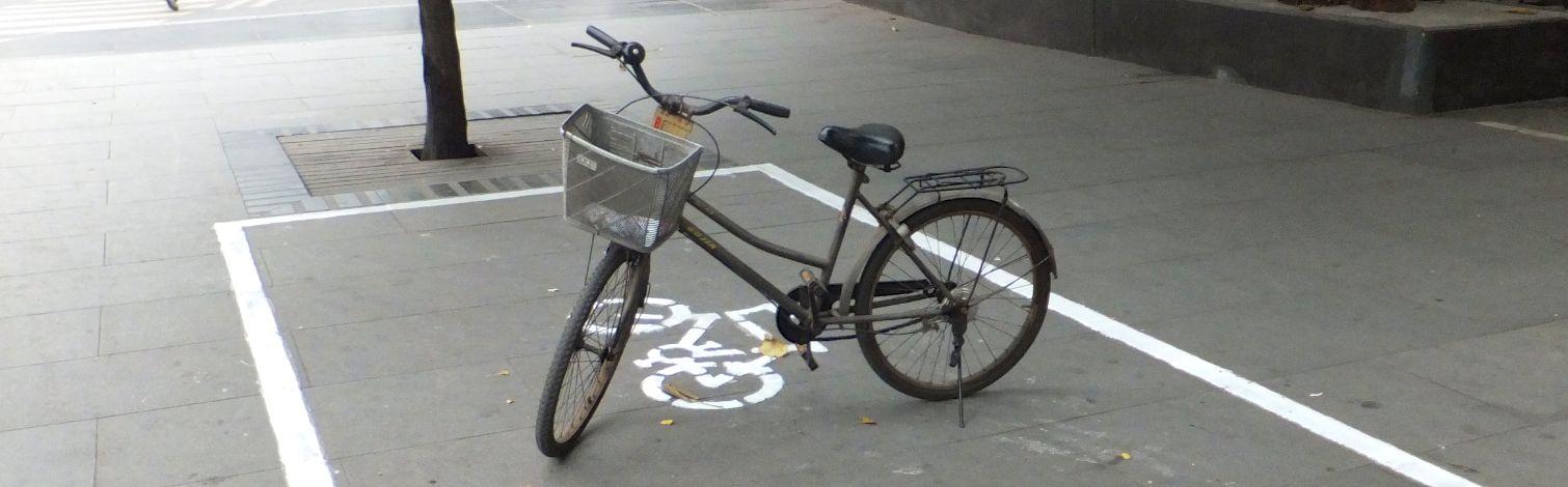 Wo sind nur die Fahrräder in China