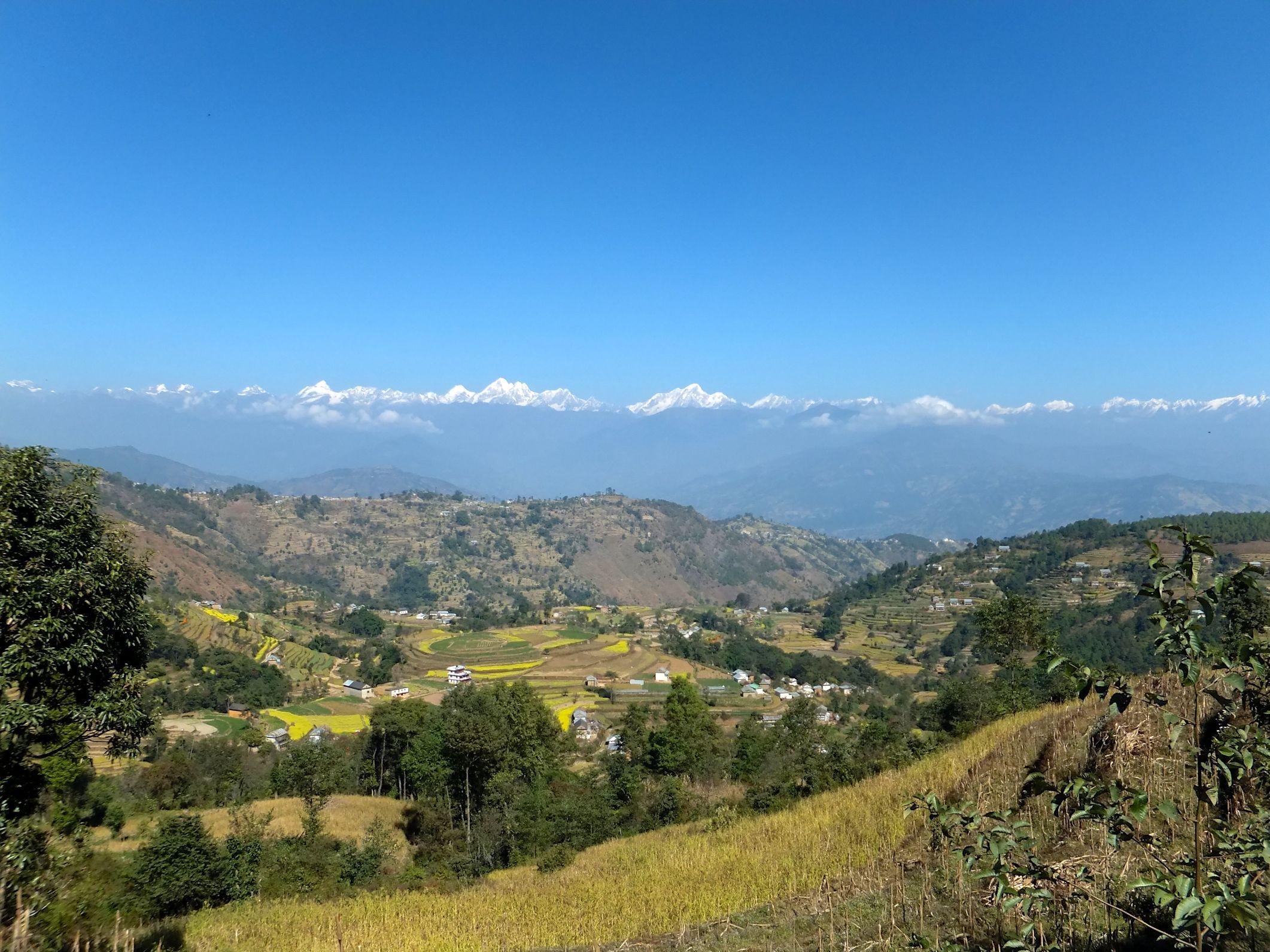 Ein kleiner Zweitages-Trek um Kathmandu herum