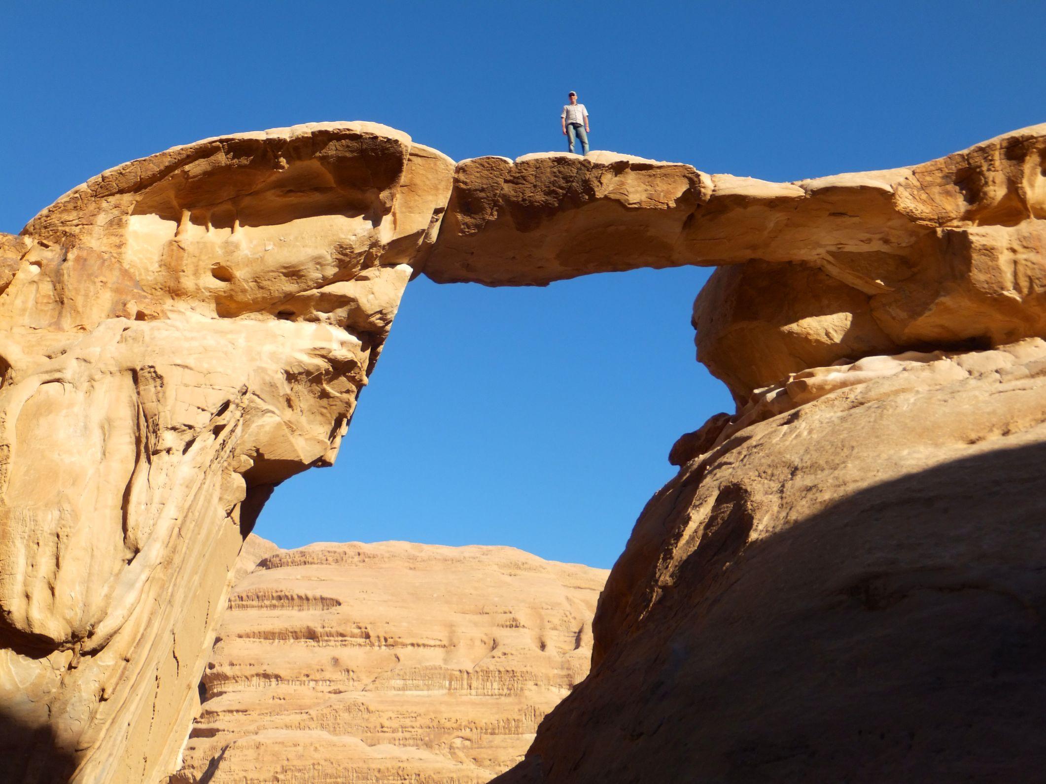 Wadi Rum – Auf den Spuren von Lawrence von Arabien