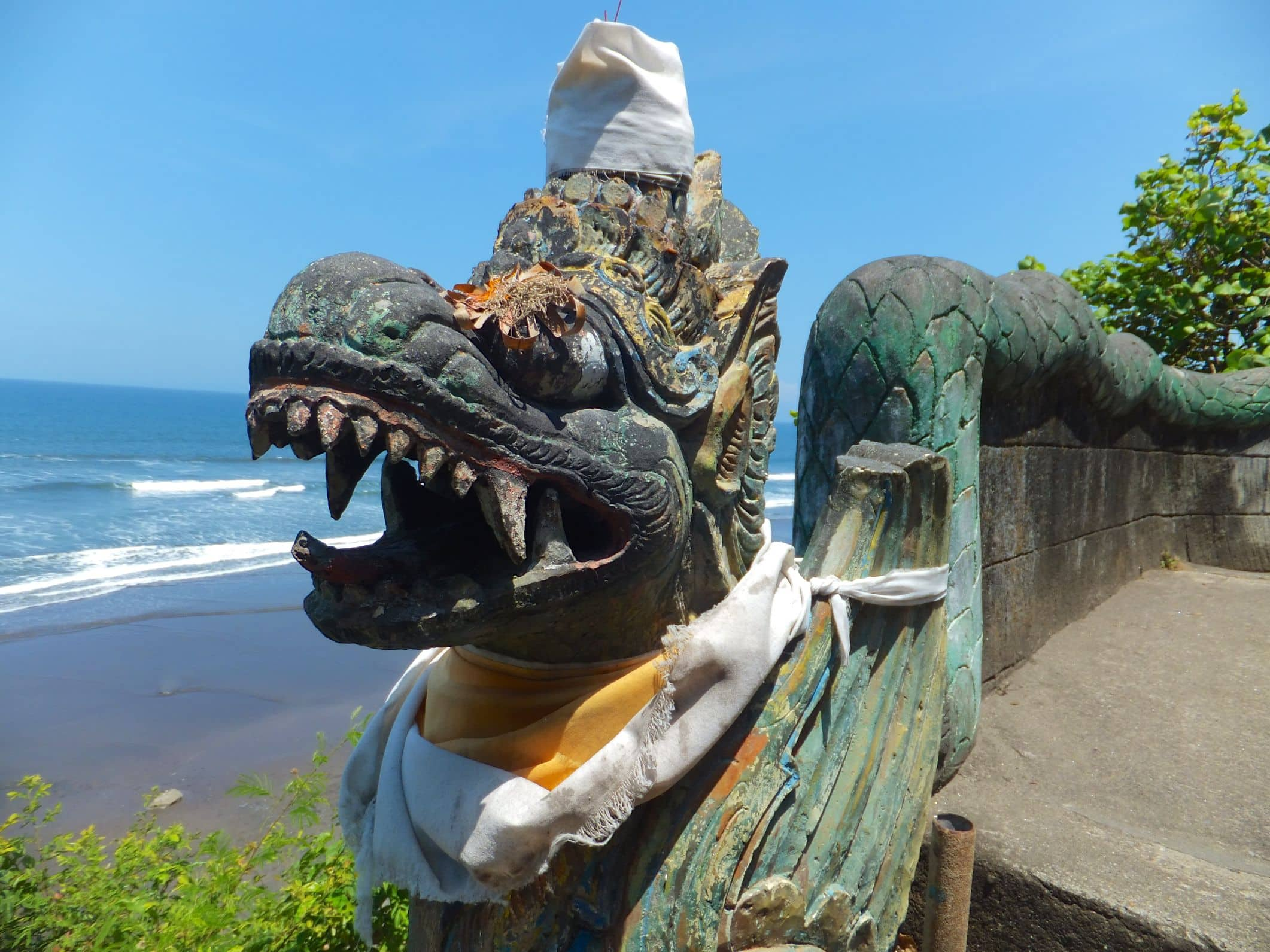Aus der Reichweite von Denpasar – Tempel Pura Dangkhayangan Rambut Siwi