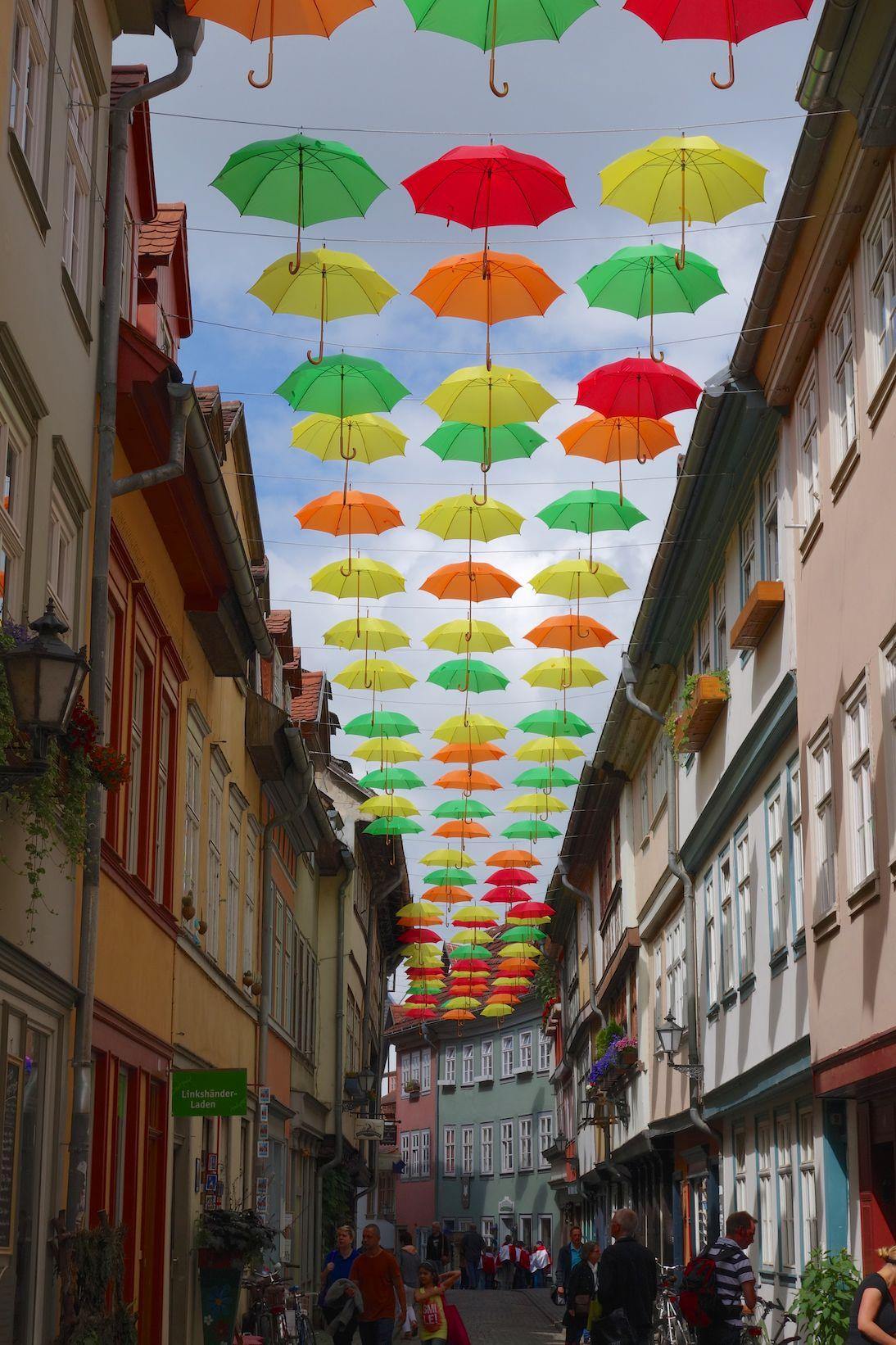 Erfurt ist bunt und unheimlich schön