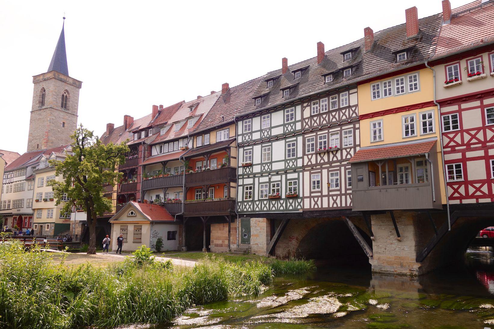 Die Krämerbrücke ist einmalig