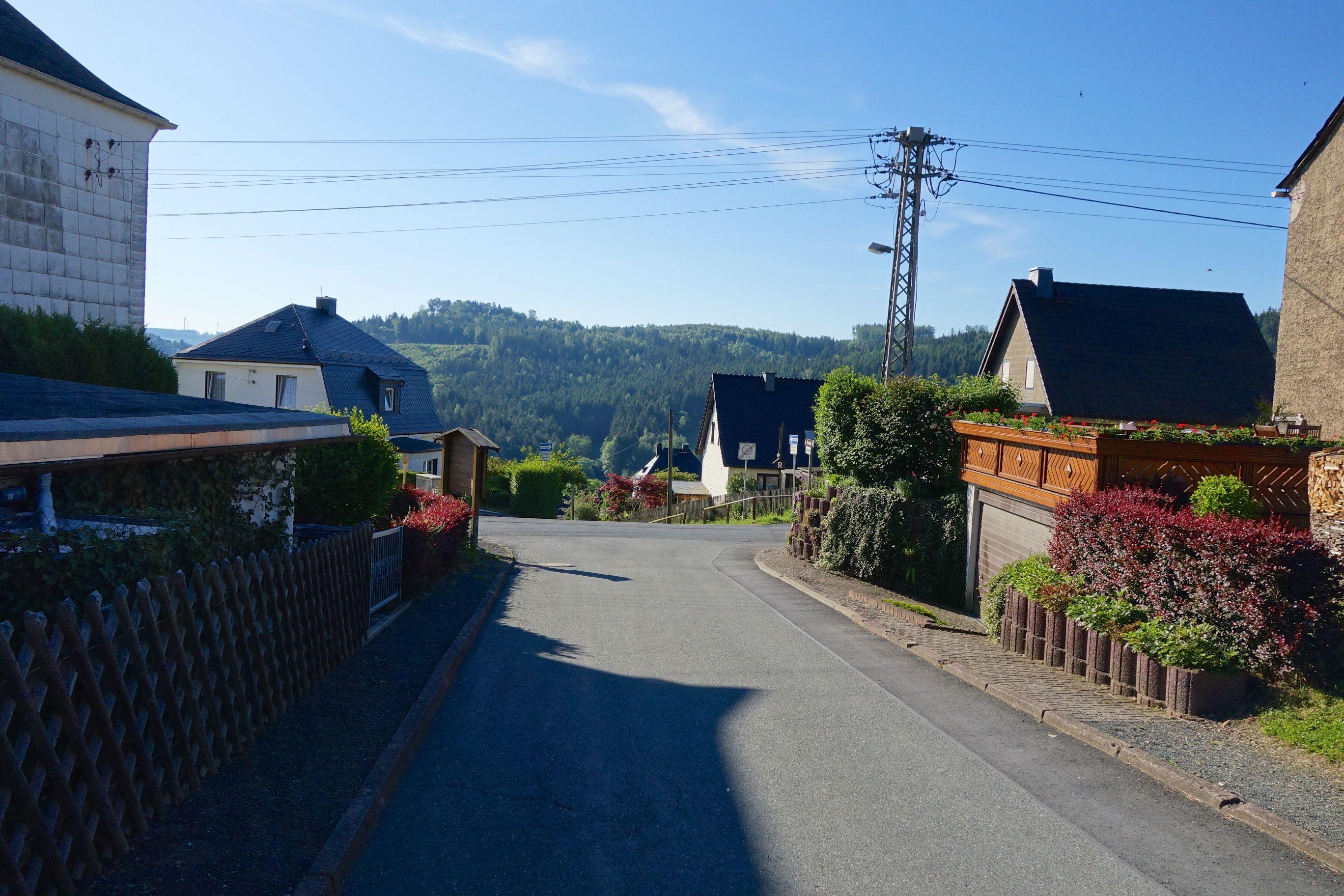 Blankenstein - Mein Startort auf dem Rennsteig