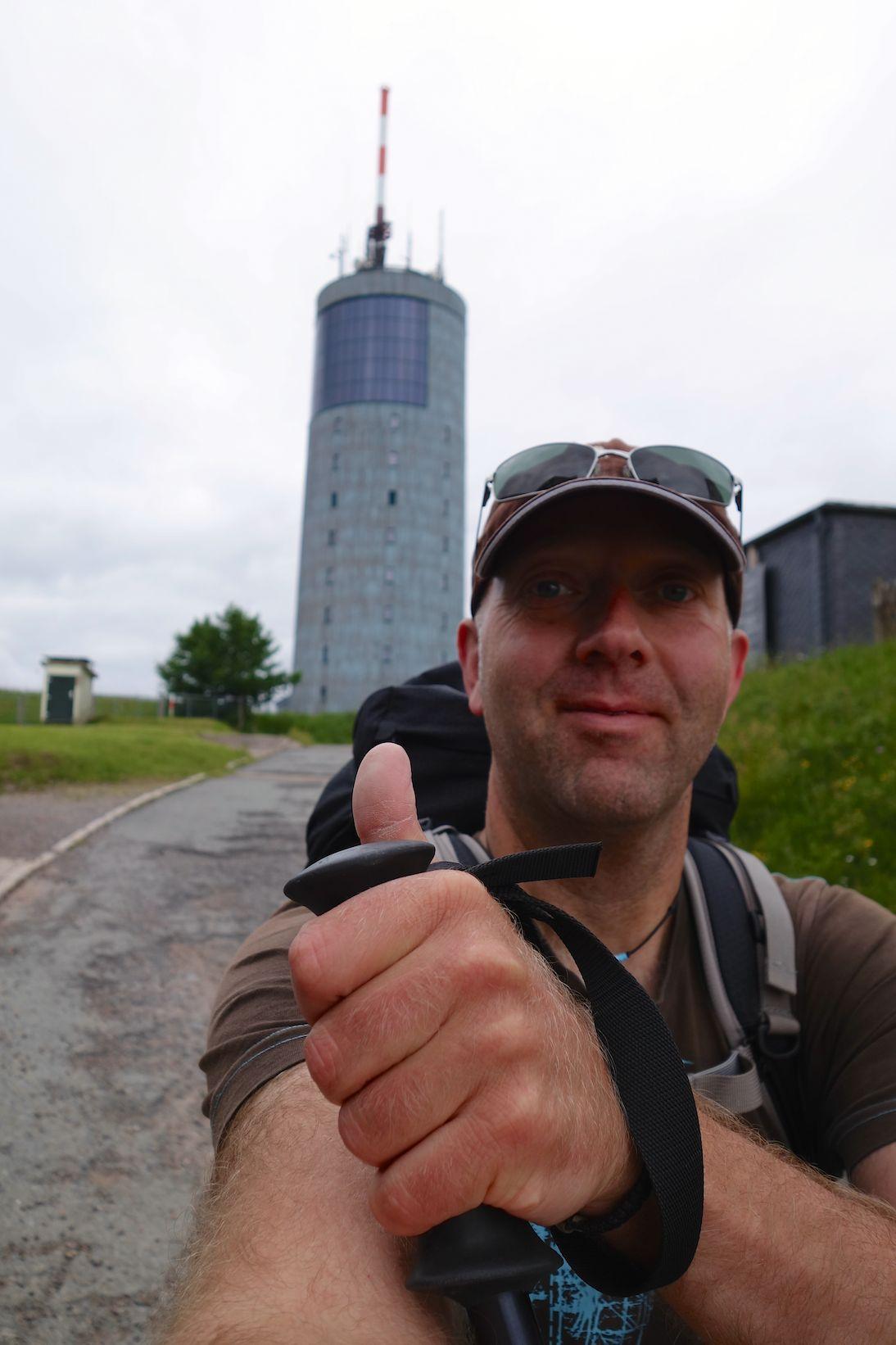 Den Inselsberg bewältigt - I did it