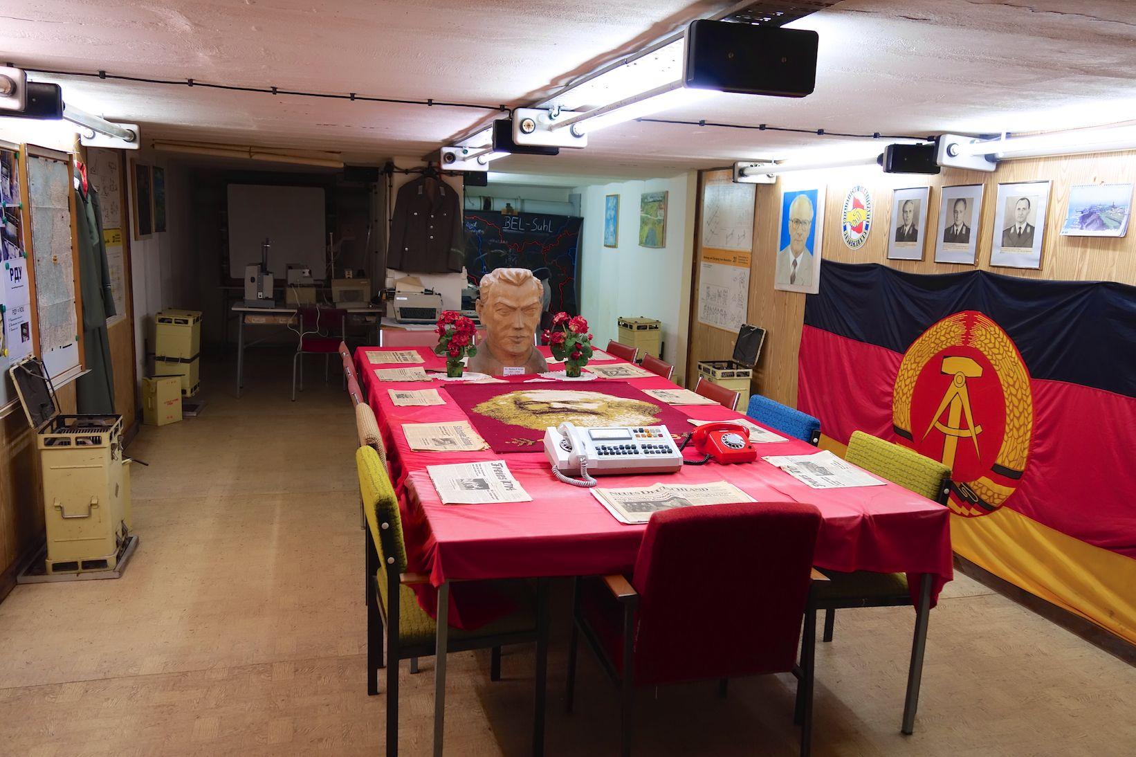 Das Bunkermuseum Frauenwald