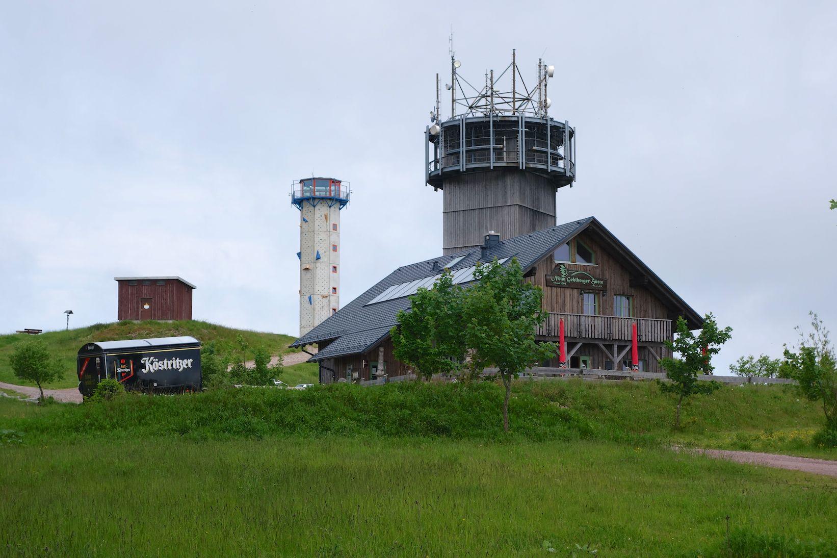 Die Neue Gehlberger Hütte ein Highlight auf dem Rennsteig