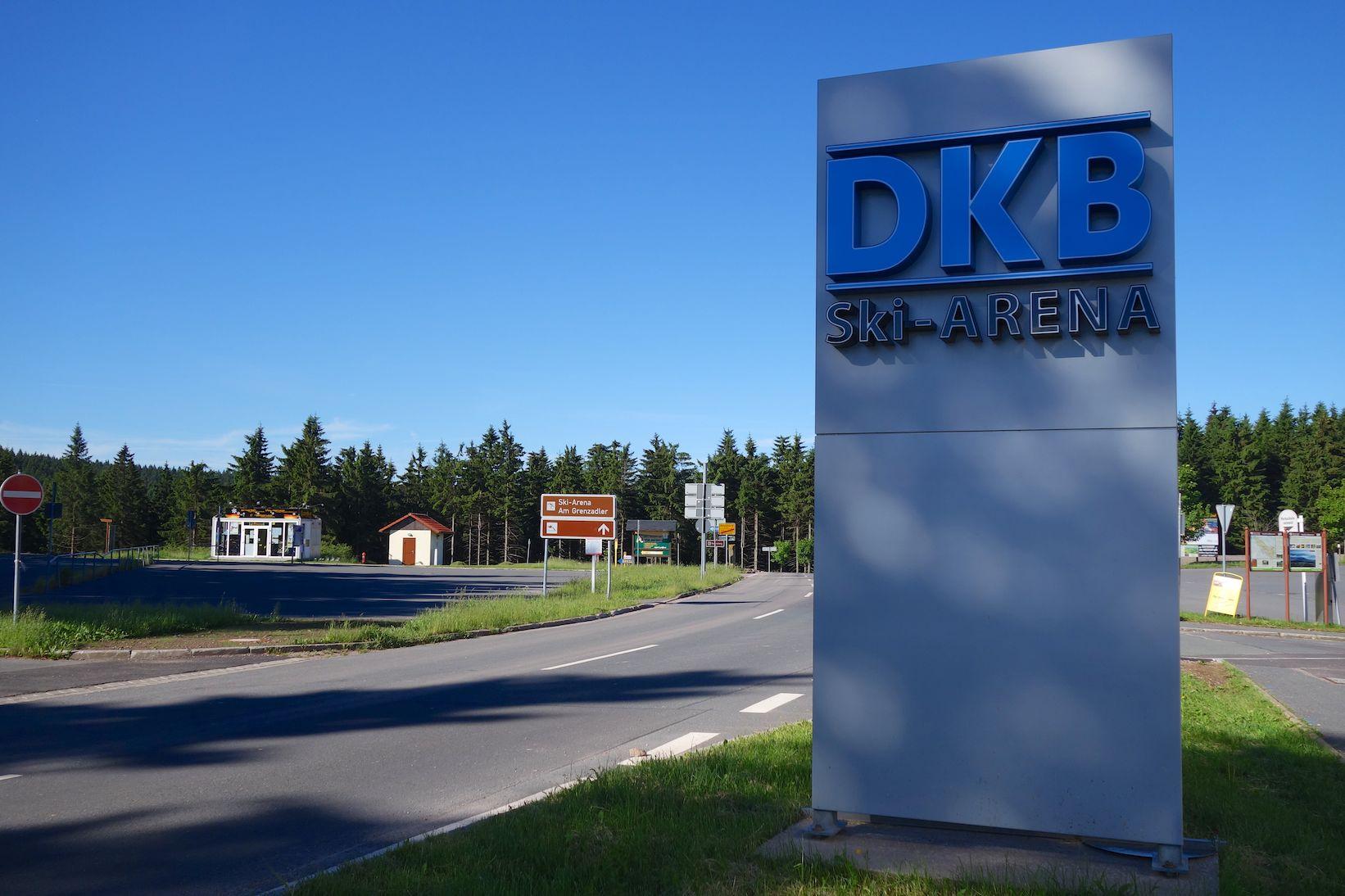 An der DKB-Skiarena geht´s weiter auf dem Rennsteig