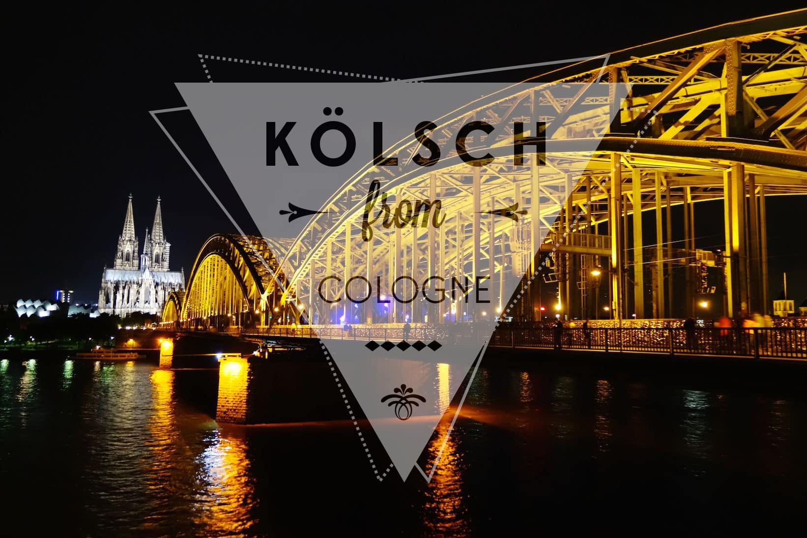 Köln ist immer wieder ein Kölsch wert