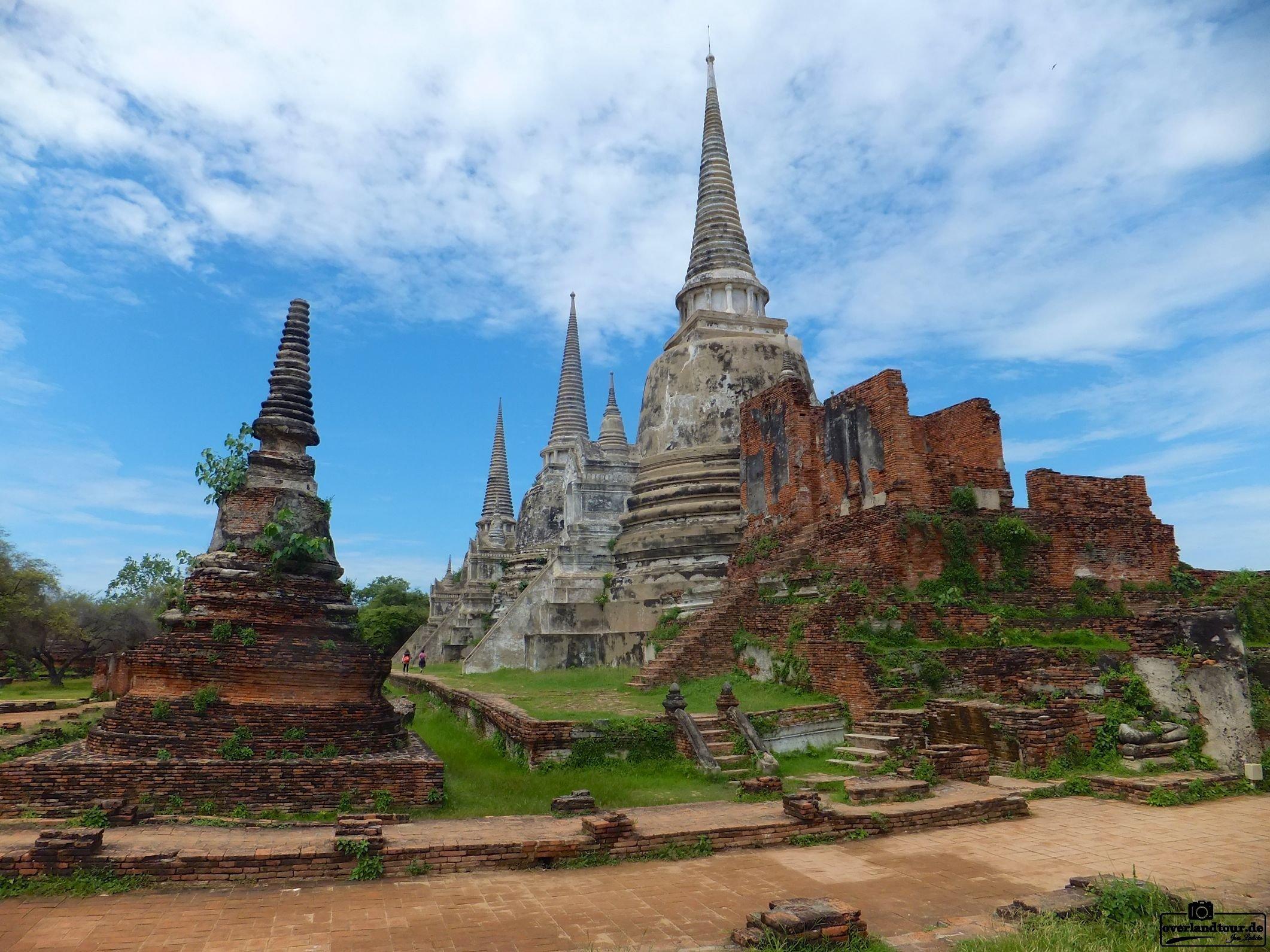 Die alte Königsstadt Ayutthaya – Eine Tagestour von Bangkok entfernt