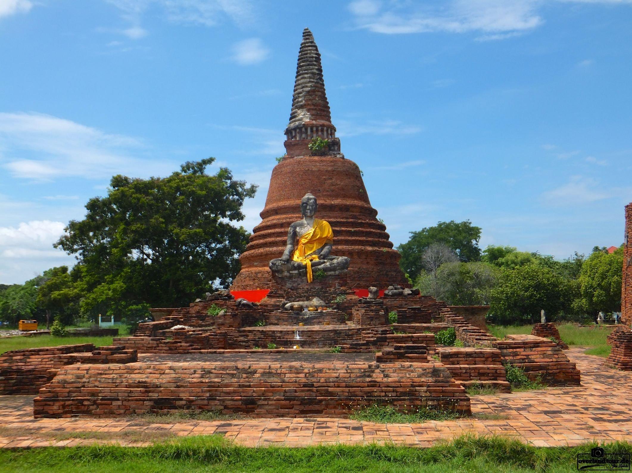 Die alte Königsstadt Ayutthaya