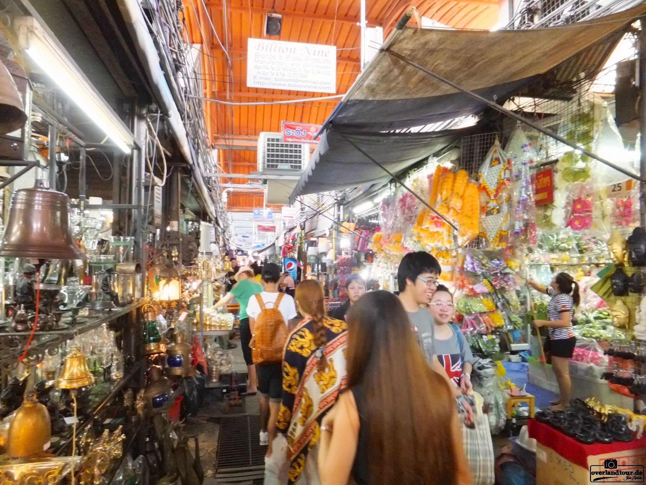 Besuch des Mo Chit Market - Bangkok