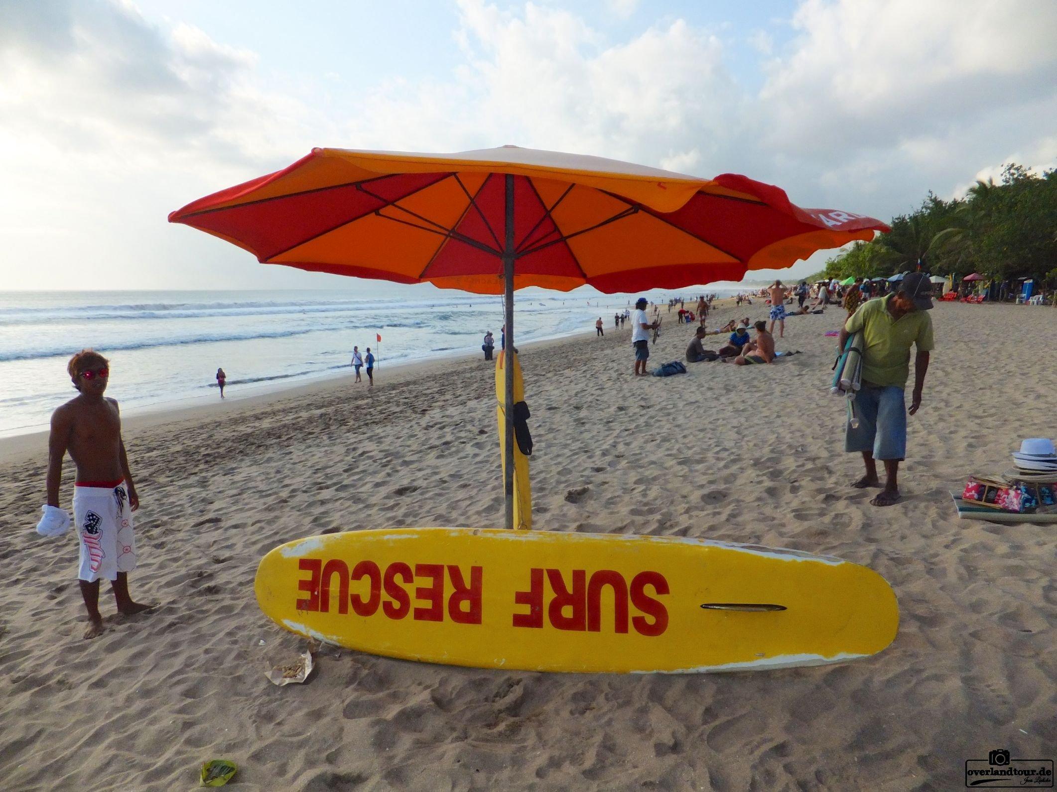 Impressionen Kuta Beach