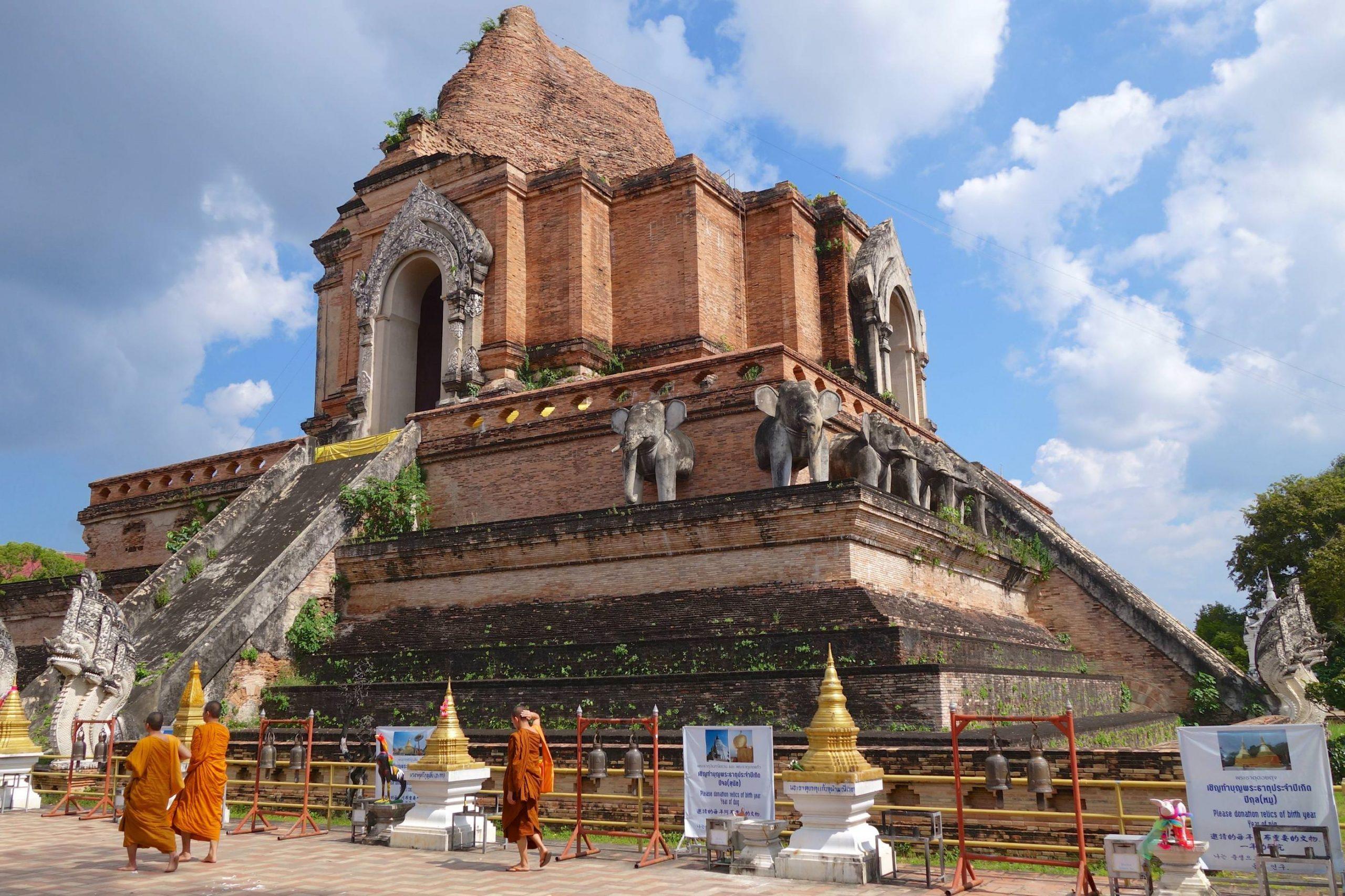 Chiang Mai mit seinen vielen Tempeln
