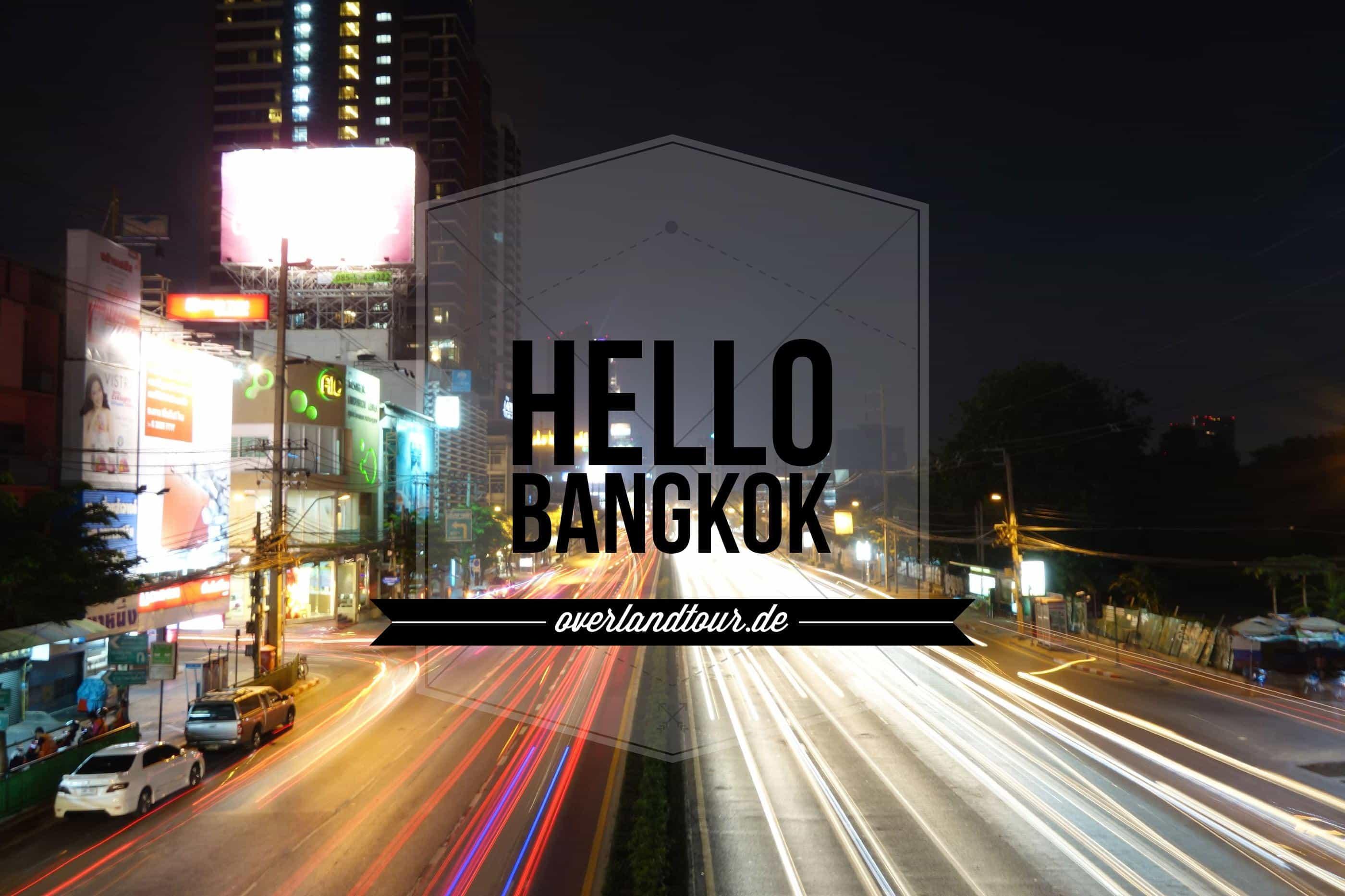 Bangkok mal etwas langsamer angehen