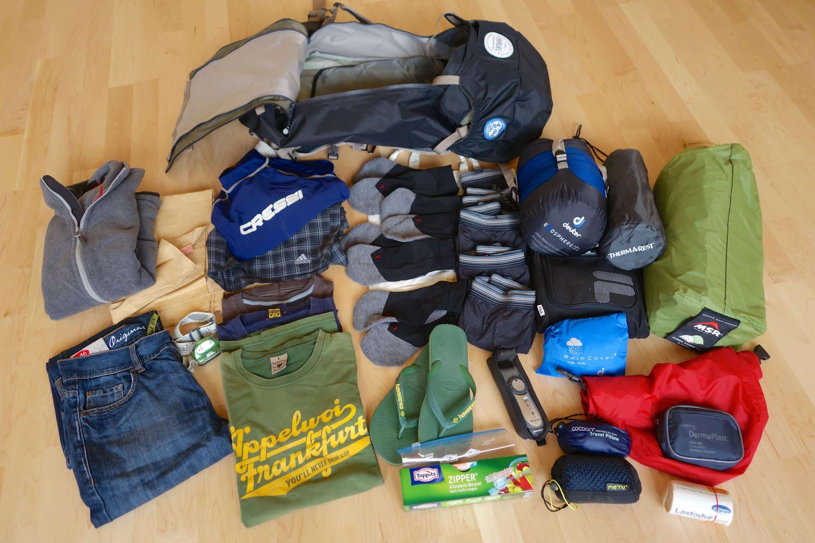 Packliste Langzeitreise – Afrika