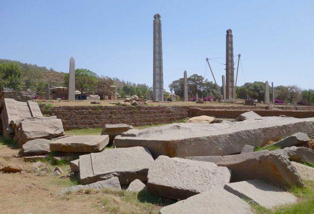 Die Stelen von Aksum - Äthiopien