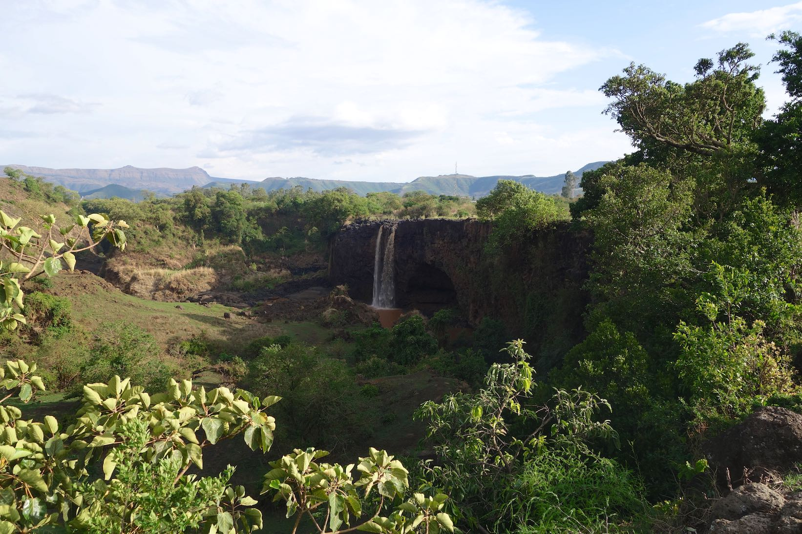 The Blue Nil Falls und der Lake Tana