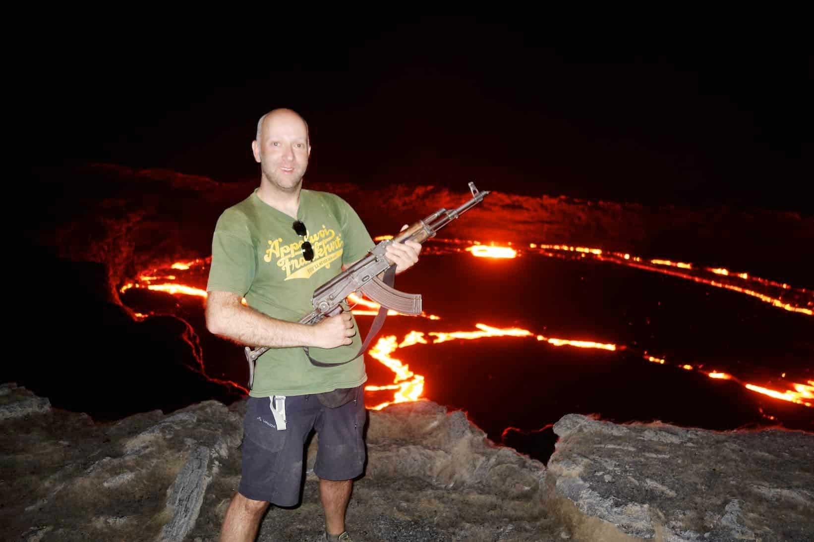 Erta Ale – Der brodelnde Vulkan in Äthiopien