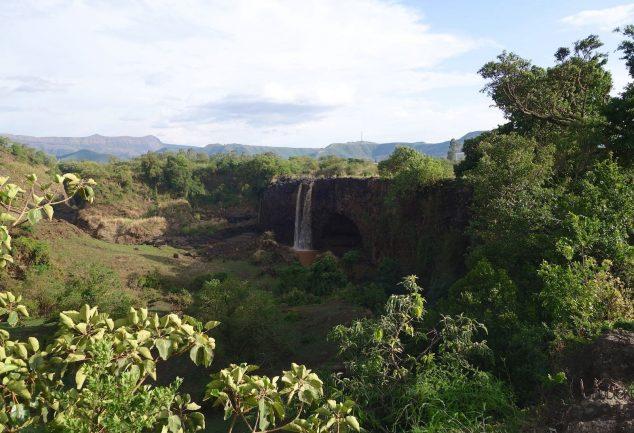 DIe Blue Nil Falls