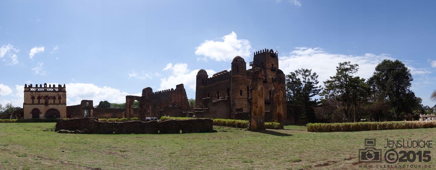 The royal castel of Gonder