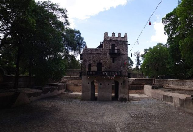 Fasilides Bath in Gondar