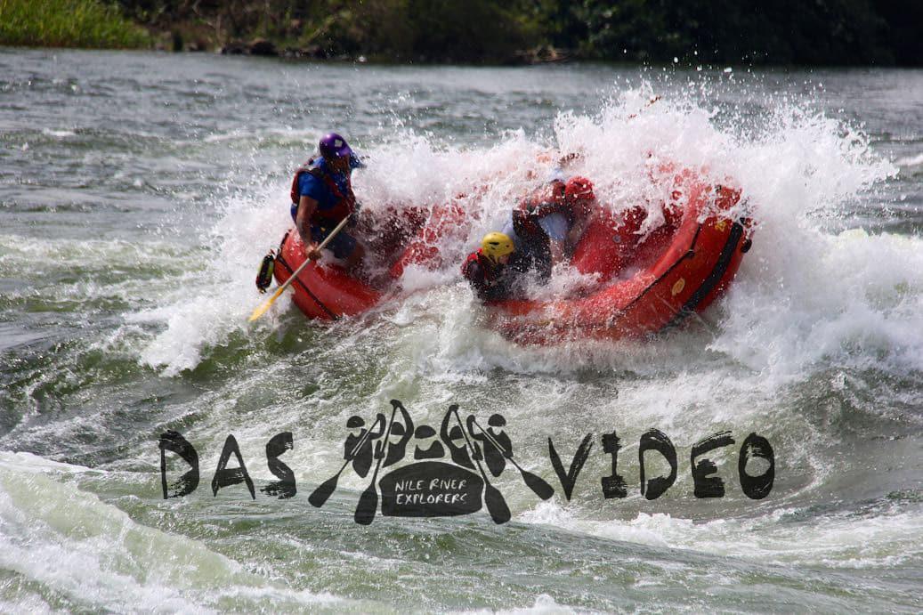 Das Video – Rafting auf dem weißen Nil in Jinga