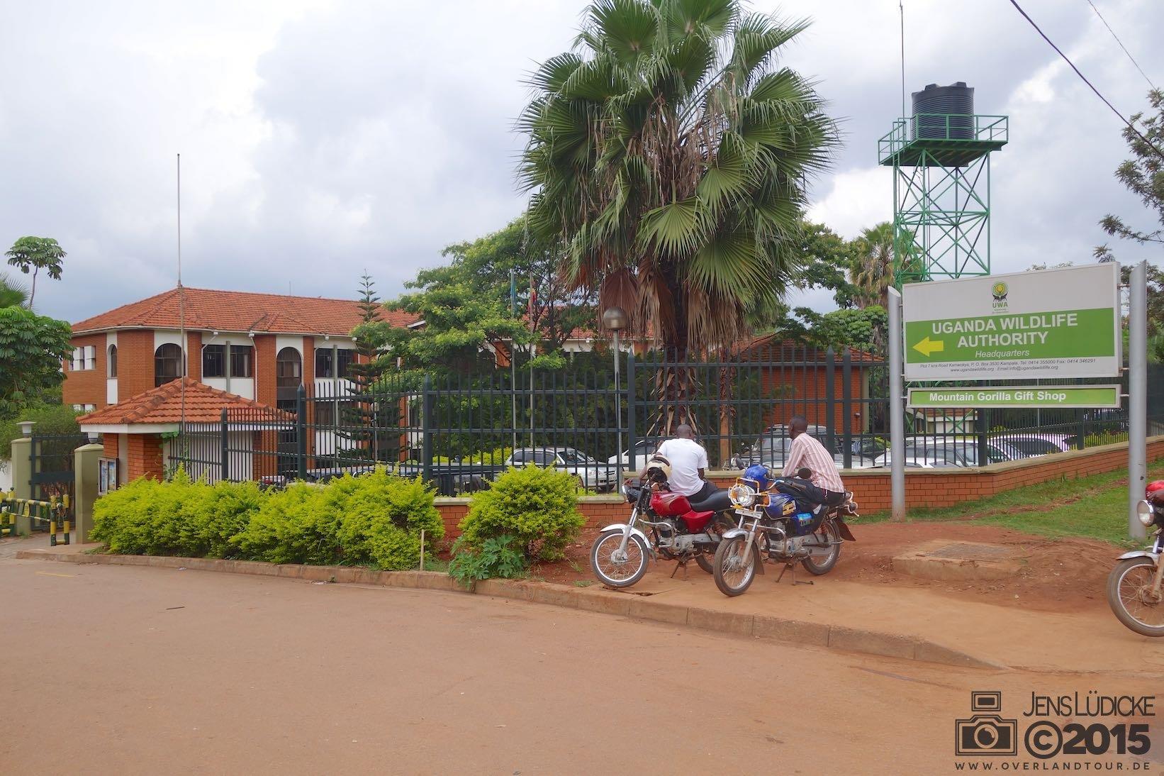Wildlife Behörde Kampala