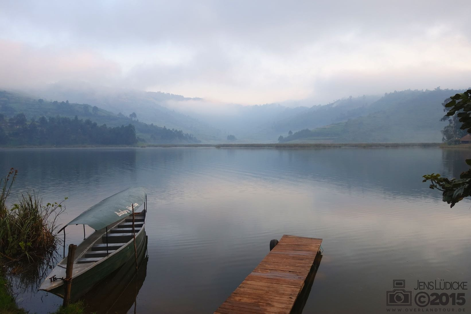 Was für ein Panorama am Lake Buyoni